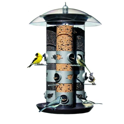 Birdscapes 329 Triple Tube  2-in-1 Feeder