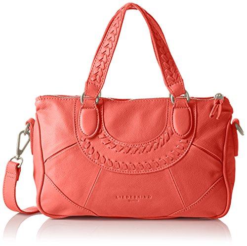 Liebeskind BerlinEstherXS icon bag - Bolsa de Asa Superior Mujer Rojo