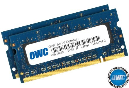 OWC 4.0GB Kit (2 x 2GB) PC2-6400 DDR2 800MHz SO-DIMM 200 Pin Memory Upgrade Kit by OWC