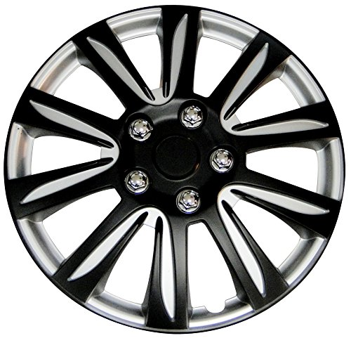 16 hubcaps black - 7