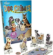 ThinkFun Crimes Brain Game and Brainteaser for Boys and Girls Age 8 and Up - A Smart Game with a Fun Theme and