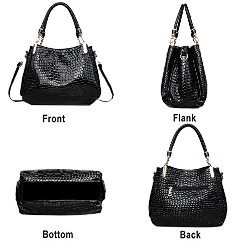 Messenger bag White crocodile shoulder pattern Tisdaini woman fashion leisure wallet wallet handbag HwPBqT