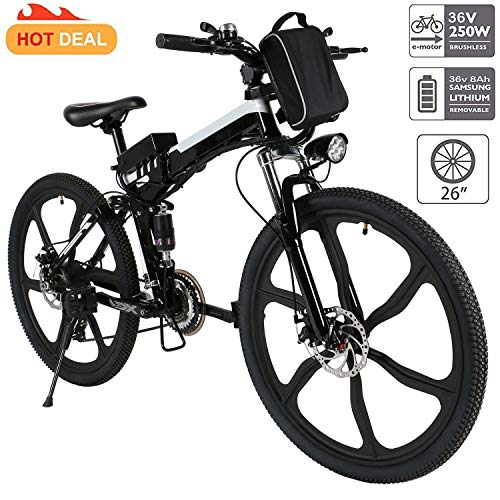 Miageek 26-inch Folding E-Bike