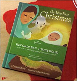 The Very First Christmas Hallmark Recordable Book: 9781595303011 ...