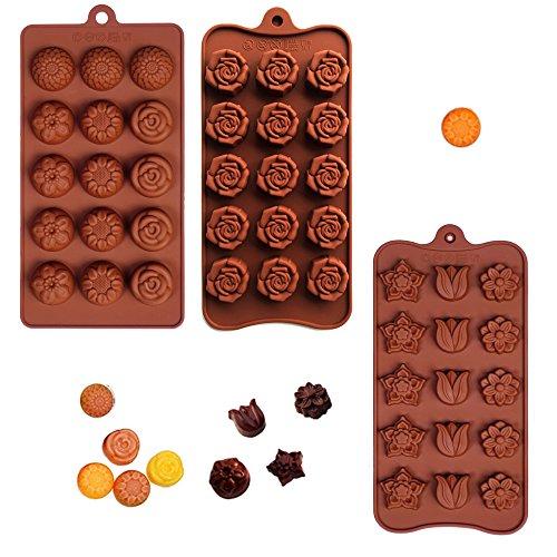 poproo-flower-shaped-3-piece-candy-molds-set-15-cavities-chocolate-ice-cube-mold-tulip-rose-sunflowe