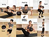 Day 1 Fitness Weighted Slam Ball 45 lbs - No Bounce