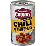 Campbell's Chunky Chili with Bean Roadhouse, 19 oz. (Pack of 12)