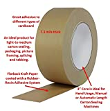 ProTapes Pro 183 Rubber Paper Carton Sealing