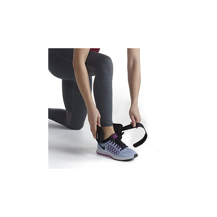SPRI Ankle Weights Set Adjustable Weights Set for Women & Men (Available in 5lb or 10lb Sets)