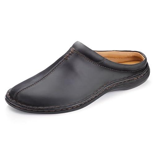 6dded613627c Samuel Windsor Men s Handmade Nappa Leather Slipper Mule