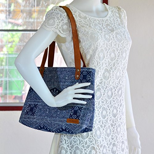 Bohemian / Handbags / Purses / Tote bags / Anniversary Gifts / Christmas Gift Ideas / Blue / Indigo by Pim Collection