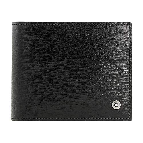 Montblanc 4810 Westside Men's Small Leather Wallet & Money Clip ()