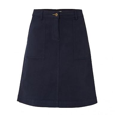 daab85e71e White Stuff Bessie Chino Womens Skirt UK12 EU40 US8 Navy: Amazon.co.uk:  Clothing