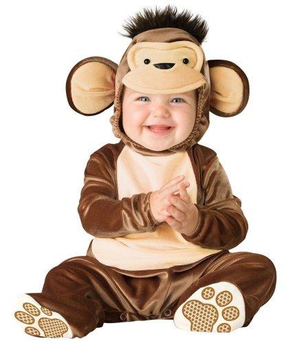 Incharacter Infant Monkey Costume (Mischievous Monkey Baby Infant Costume - Infant Medium)