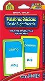 Basic Sight Words Flash Cards - Bilingual (Spanish Edition)