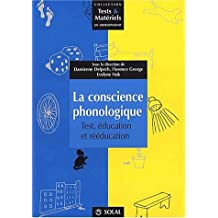 la conscience phonologique: test, education et reed.