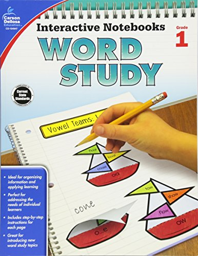 Interactive Notebooks Word Study, Grade 1