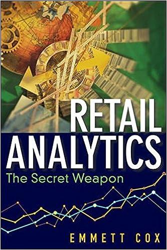 Retail analytics the secret weapon emmett cox 9781118099841 retail analytics the secret weapon emmett cox 9781118099841 amazon books fandeluxe Image collections