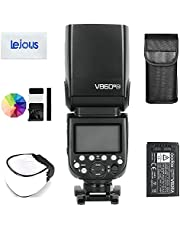 Godox V860III-N TTL Camera Flash, 2.4G HSS 1/8000s Speedlite with Li-ion Battery VB26A/7.2V/2600mAh for Nikon D500 D750 D810 D610 D800 D300 D5300 Z7 Z6 etc