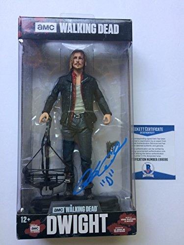 Austin Amelio autographed McFarlane Figure Dwight The Walking Dead Beckett