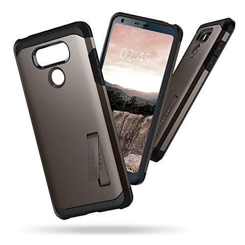 info for 77eba 0c81a Spigen Tough Armor Designed for LG G6 Case (2017) / LG G6 Plus Case (2017)  - Gunmetal