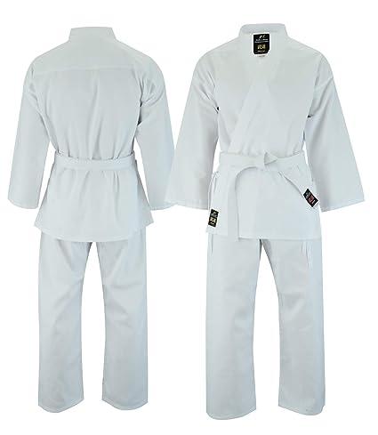 Malino Traje liviano de Karate para niños 6oz de Uniforme de ...