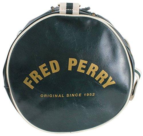 Fred Perry - Bolso al hombro de Pvc para hombre verde verde