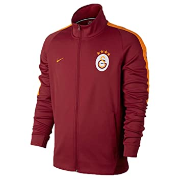 2017 2018 Galatasaray Nike Authentic Windrunner Jacket (Pepper Red)