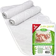 Changing Pad Liners [3 Pack] - Waterproof Changing Pads Liners - EXTRA LARGE 27  X 14  - Baby Diaper Changing Table Pad