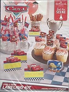 Disney Pixar Cars Food & Drink Labeling Kit