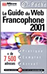 Guide du Web francophone 2001 par application