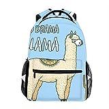 Best EcoCity Backpack For Hikings - Cute Lightweight Cute Alpaca Llamas Or Wild Guanaco Review