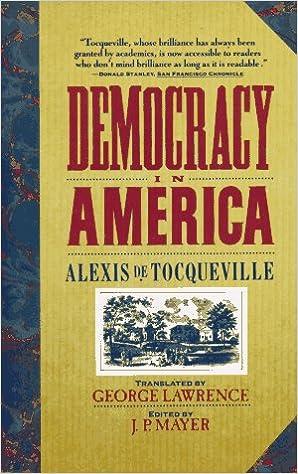 Book Democracy in America