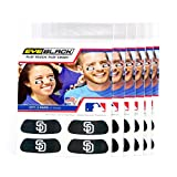 (24 Strips) Eye Black - San Diego Padres MLB Eye Black Anti Glare Strips, Great for Fans & Athletes on Game Day