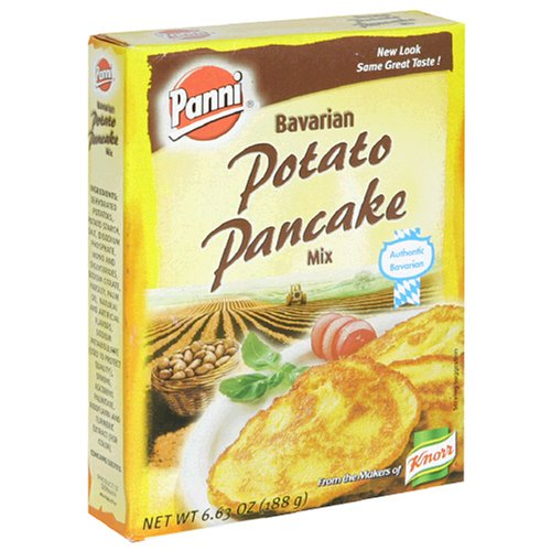 Panni Bavarian Potato Pancake Mix, 6.63-Ounce Boxes (Pack of (Panni Pancake Mix)