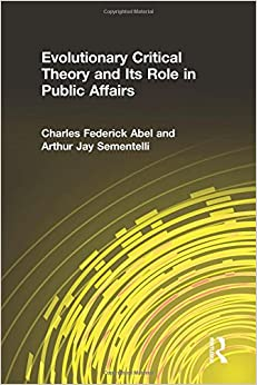 Book Evolutionary Critical Theory and Its Role in Public Affairs