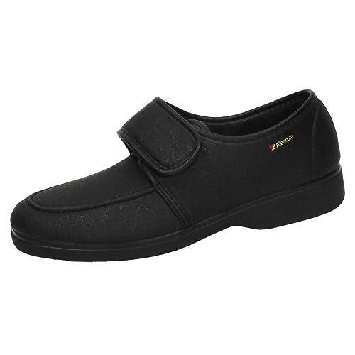 ALBEROLA T7096 Zapatillas CÓMODAS Hombre Calzado Trabajo Negro 39
