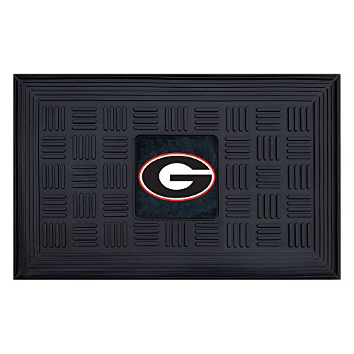 Georgia Ncaa University Bulldogs (FANMATS NCAA University of Georgia Bulldogs Vinyl Door Mat)