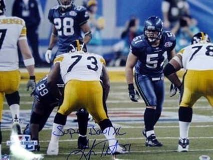 Lofa Tatupu Signed 16 x 20 Photo Seattle Seahawks Super Bowl XL - PSA DNA 13fb1f328