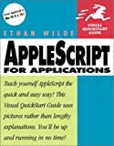 Applescript for Applications, Ethan Wilde and Peachpit Press Staff, 0201716135