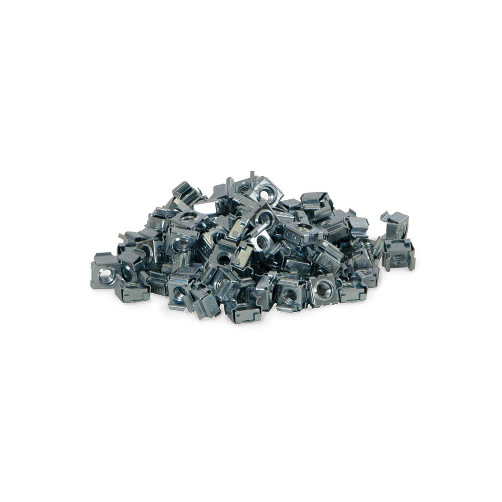 12-24 Cage Nut (Pack of 100) Kendall Howard 0200-1-002-03