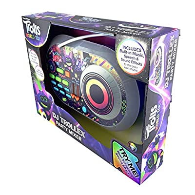 Trolls World Tour DJ Trollex Party Mixer: Home Audio & Theater