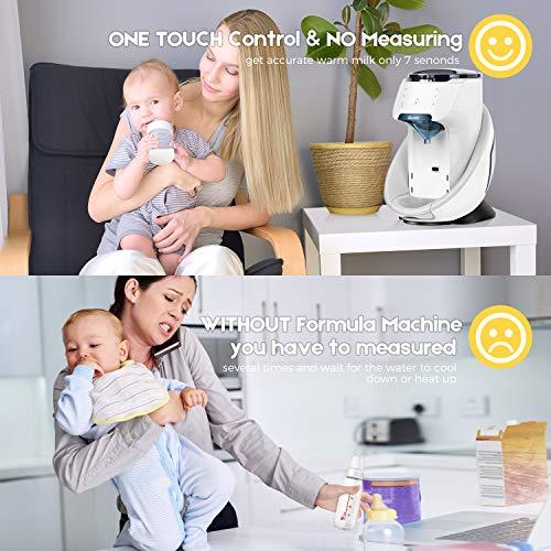 Burabi Wi-Fi Smart Formula Mixer Machine Milk Powder Maker for Baby Bottle Feeding App Control