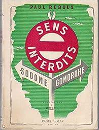 Sens interdits : Sodome et Gomorrhe par Paul Reboux