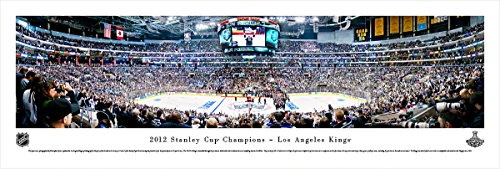 2012 Stanley Cup Champions - Los Angeles Kings - Blakeway Panoramas Unframed NHL - Center Pictures Prudential