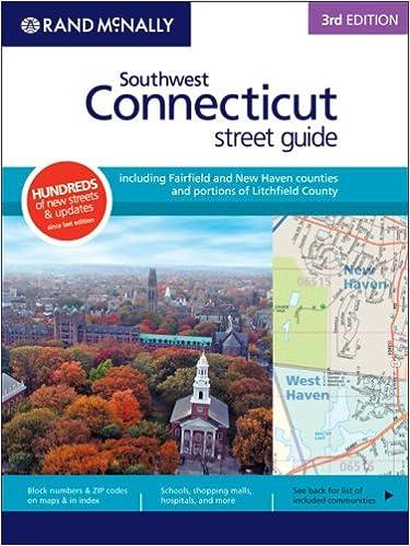 Rand McNally Rd Edition Southwest Connecticut Street Guide Rand - Rand macnally southwestern us road map