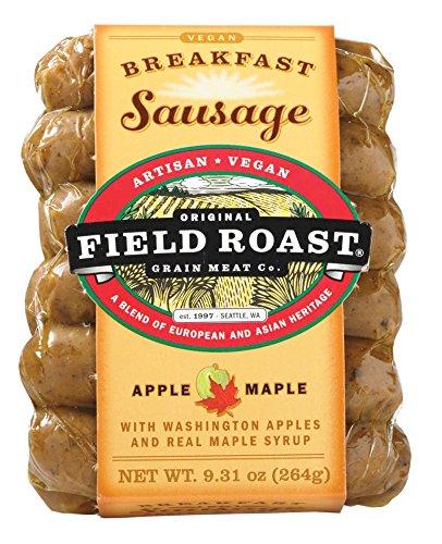 Field Roast Breakfast Sausage, Apple Maple, 9.31 Ounce (Pack of 12) - Field Roast