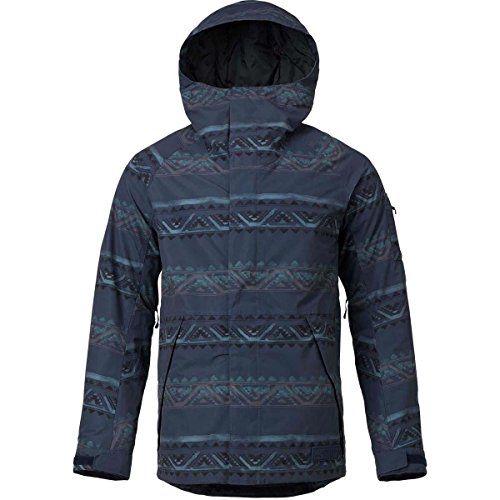 Burton Men's Hilltop Jacket Mood Indigo Chimayo Medium by Burton