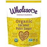 Wholesome Sweeteners, Inc, Organic Coconut Palm Sugar, 4Pack (16 oz) - 454 g