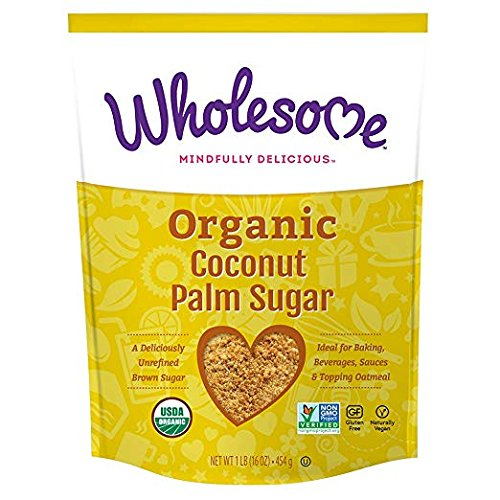 Wholesome Sweeteners, Inc., Organic Coconut Palm Sugar, 4 Packs (16 ounce) - package of Organic by Wholesome (Image #1)